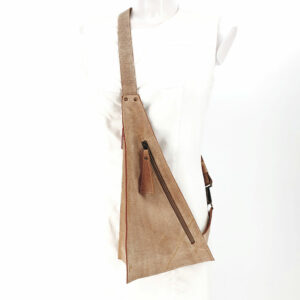 Crossbody Bag Triangolo Beige