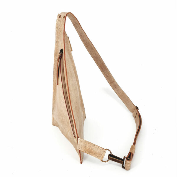 Crossbody Triangolo Beige