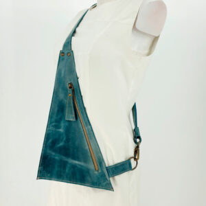 Crossbody Bag Triangolo Blue