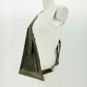 Crossbody Triangolo Groen