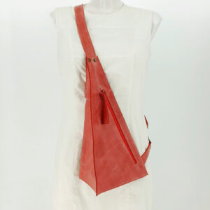 Crossbody Triangolo Rood